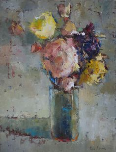 Julia Klimova. Yellow Roses too.