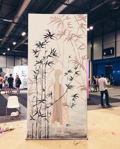 Japanese mural | MULAFEST festival. - Marina Guiu | illustration