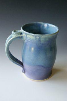 coffee mug - pottery - riverstonepottery - etsy