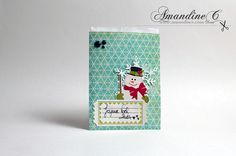 ·•●★ AmandineC Scrapbooking ✽ VIDEO ON YOUTUBE ✽ http://www.amandinec.com/blog #amandinec #scrapbooking #amandinecscrapbooking #cleanandsimple #card #cardmaking #handmadecard #handmade #crafting #gift #christmas