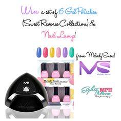 MelodySusie Nail products {Gel Polish and Nail Lamp Giveaway} AD #win