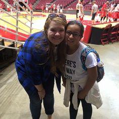 Jeyli and her mentor Kelli had a blast visiting @redbird_basketball 's Redbird Arena at @illinoisstateu ! #athletics #mentoringmilestones #CollegeMentorsforKids by ilstu_cmfk