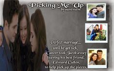 Picking Me Up   By: numtwelve (BANNER BY Anarodfranco) Bella and Jacob Black had a perfect marriage…until he got sick. Cancer took Jacob away from her and their daughter, leaving his best friend, Edward Cullen, to help pick up the pieces. *This story deals with the aftermath of a character death and is rated for lemons*  https://www.fanfiction.net/s/10395072/1/Picking-Me-Up