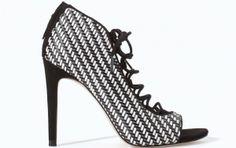 Scarpe Zara primavera estate 2014 sandalo cordoncino - #shoes
