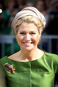 Queen Máxima, September 13, 2013 in Fabienne Delvigne I The Royal Hats Blog