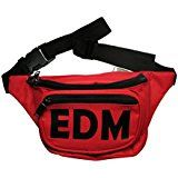 On Black Friday Cyber Cyber Monday Deals week  RTGraphics Unisex EDM Electronic Dance Music Zippers Fanny Pack
