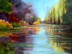 Etang de Giverny (Cours peinture)