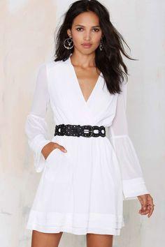 Chiffon Dress ==