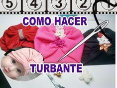 COMO HACER UN TURBANTE EN 2 TECNICAS DIFERENTES PT 1/ HOW TO MAKE A TURBAN - YouTube