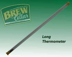 LONG GLASS THERMOMETER