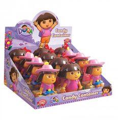Figura llavero con caramelos de #DoraExploradora surtido, por sólo 2.28€ unidad!
