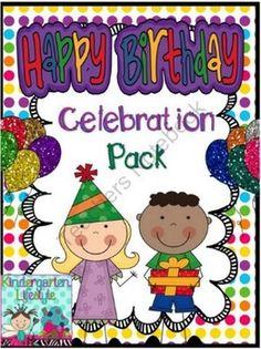 Happy Birthday Celebration Pack (Polka Dots)