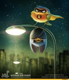 Batman,Бэтмен, Темный рыцарь, Брюс Уэйн,DC Comics,DC Universe, Вселенная ДиСи,фэндомы,Robin,Робин, Чудо мальчик,Bat Family,Бэт семья,funny,Cryptid-Creations,artist