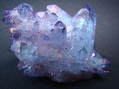 Imagem de crystal, purple, and blue