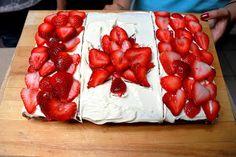 canada day cake.