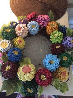 Pinecones wreath
