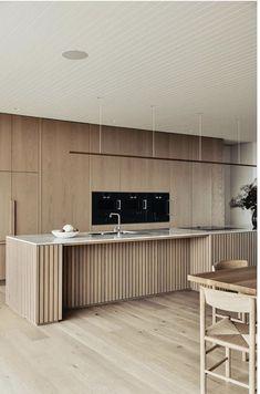 Home Decor Signs Interior Desing, Interior Design Kitchen, Interior Architecture, Home Remodeling Diy, Minimalist Kitchen, Cuisines Design, Modern Kitchen Design, Home Decor Styles, Home Decor Bedroom