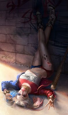 "art-of-cg-girls: ""Harley Quinn by Tae Kwon Kim (A-rang) """
