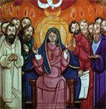 una vida católica en construcción: Con María...esperado Pentecostés