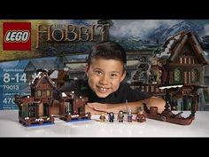 Tommy loves Evantube. LAKE-TOWN CHASE -   LEGO HOBBIT Set 79013  - Time-lapse Build, Stop Motion, Unboxing & Review!