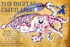 Token Skeptic Podcast - Interview With The Digital Cuttlefish Cuttlefish, Marine Biology, Tattoo Inspiration, Interview, Creatures, Rainbow, Writing, Digital, Octopus