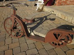 Antique Bicycle Scooter | Collectors Weekly