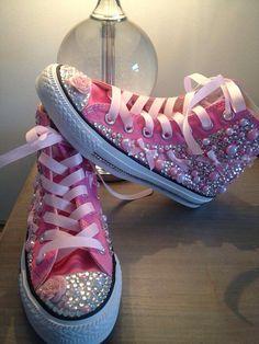 #etsy #converse #pink custom made