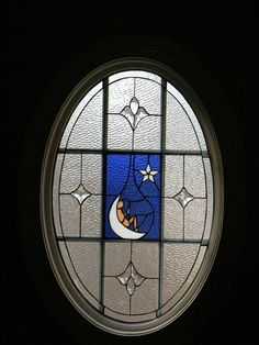 One of our leaded glass designs, River Downs.