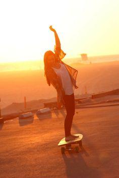 cute, girl, skate, skate girl, summer