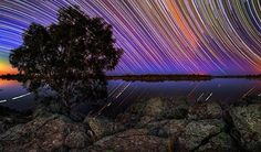 Star Trails in the Outback