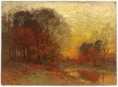 John Joseph Enneking, Autumn Sunset, 1895 (source).
