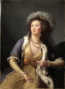 Comtesse de Clermont-Tonnerre (1766-1832), 1785 by Elisabeth Vigee Le Brun (1755-1842)