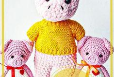 Patrón libre de conejito de ganchillo amigurumi - Página 5 de 8 - Patrones de amigurumi gratis Crochet Bunny Pattern, Crochet Dolls Free Patterns, Crochet Toys, Stuffed Toys Patterns, Crochet For Beginners, Pony, Projects To Try, Teddy Bear, Animals