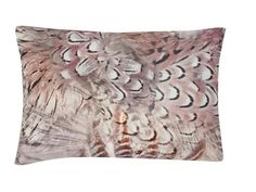 Raaf Sierkussenhoes Feather taupe 30x50