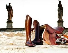 Alberto Fasciani boots - check out the Italian Equestrian quality on equestyle.com
