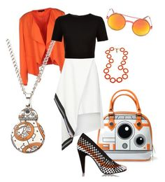 """""""star wars"""" by srlangley ❤ liked on Polyvore featuring SELECTED, Fornash, Preen, Alexander Wang and Ted Baker"""