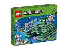 The Lego Ocean Monument - a great selection of Lego construction sets at Wonderland Models.  One of our favourite sets in the Lego Minecraft Range is The Ocean Monument set.