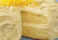 Bright and tangy, this cake will appeal to adults and children.