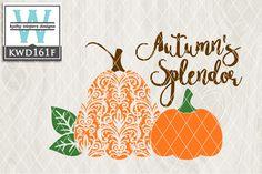Svg Autumn Themed Cutting File Kwd161 Kw Designs Vector Files Pinterest
