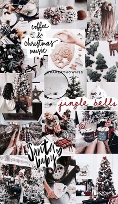 43 Ideas christmas wallpaper aesthetic collage for 2019 Christmas Wallpapers Tumblr, Christmas Phone Wallpaper, Iphone Wallpaper Vsco, Holiday Wallpaper, Cute Wallpapers, Christmas Aesthetic Wallpaper, Winter Wallpapers, Trendy Wallpaper, Christmas Walpaper
