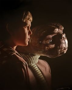 Elliot and E.T. by euclase