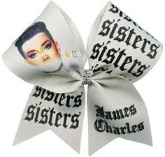 James Charles Sisters Cheer Bow James Charles Sisters Cheer Bow Related posts:Cheer tumbling tip: head neutral in tumblingCheer Like a Beauty Train like a Beast shirt; Cheerleading Jumps, Cheer Stunts, Volleyball Bows, Softball Pictures, Cute Cheer Bows, Cheer Hair Bows, Cheer Practice Outfits, Cheer Outfits, Cheer Pictures
