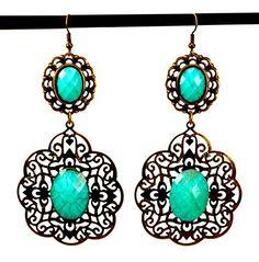 A Pair of Indian Brass Metal Floral Design Boho Hippie Fashion Earrings Krishna Mart India http://www.amazon.com/dp/B00UNDE29Y/ref=cm_sw_r_pi_dp_rW.xwb035AV9T