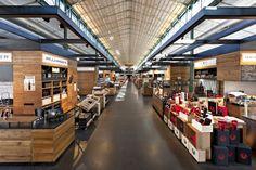 Mercado en Munich, Schrannenhalle marketplace by Oliv Architekten Ingenieure