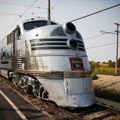 Burlington Silver Pilot Train