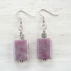 Lovely in Lavender Earrings #handmade #KiwiAvenue