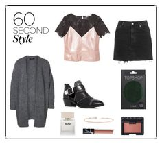 """""""60 Second Style: Family Dinner"""" by mariannamic on Polyvore featuring MANGO, Topshop, Vince Camuto, NARS Cosmetics, SELECTED, Leah Alexandra, Bella Freud, layers and familydinner"""