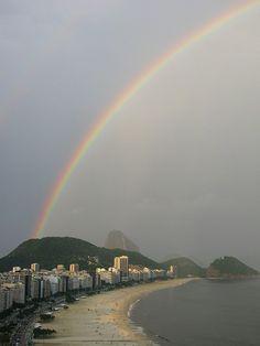 Apuntes y Viajes: Arcoíris en Copacabana