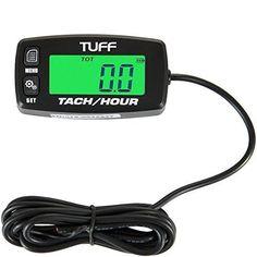 #marineelectronics TUFF Hour / Tach Meter UNIVERSAL Digital Waterproof Backlit Tachometer RPM Gauge Lighted Display for - ATV PWC Outboard…