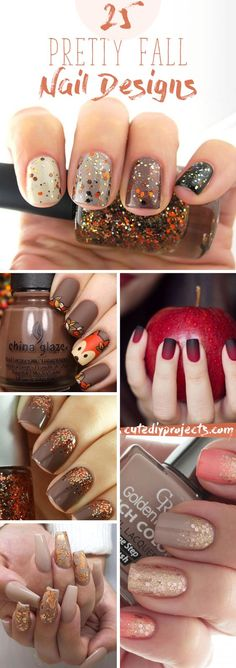 25 Ultra-Pretty Fall Nail Designs To Let Your Fingertips Celebrate Autumn Free pattern and Tu. : 25 Ultra-Pretty Fall Nail Designs To Let Your Fingertips Celebrate Autumn Fall Toe Nails, Autumn Nails, Shellac Nails Fall, Shellac Pedicure, Nails Design Autumn, Fall Nail Art Autumn, Simple Fall Nails, Cute Nails For Fall, Pedicures